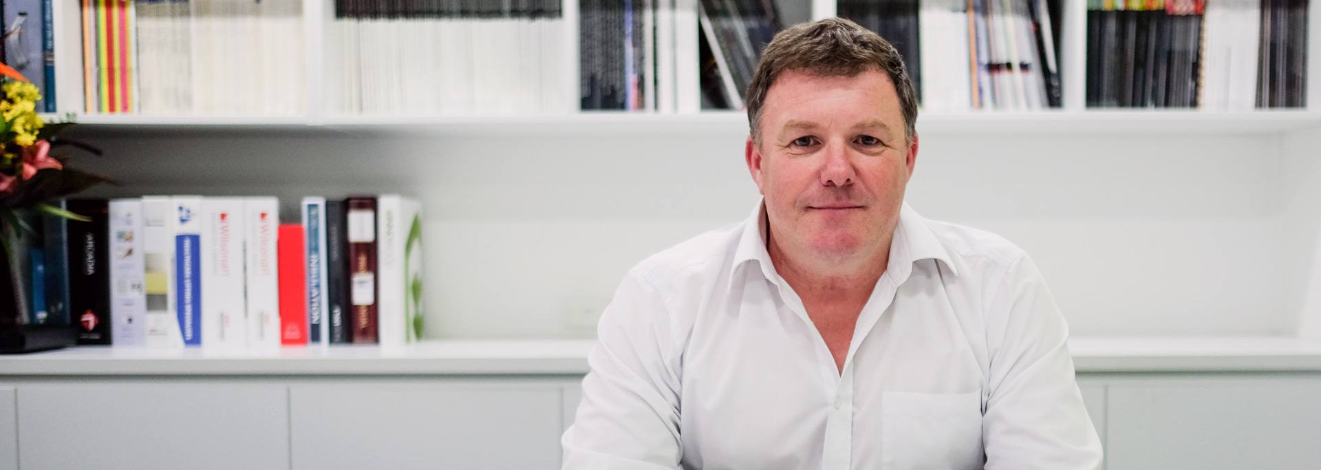 Cameron Martin Director at Martin and Ollmann Crows Nest office