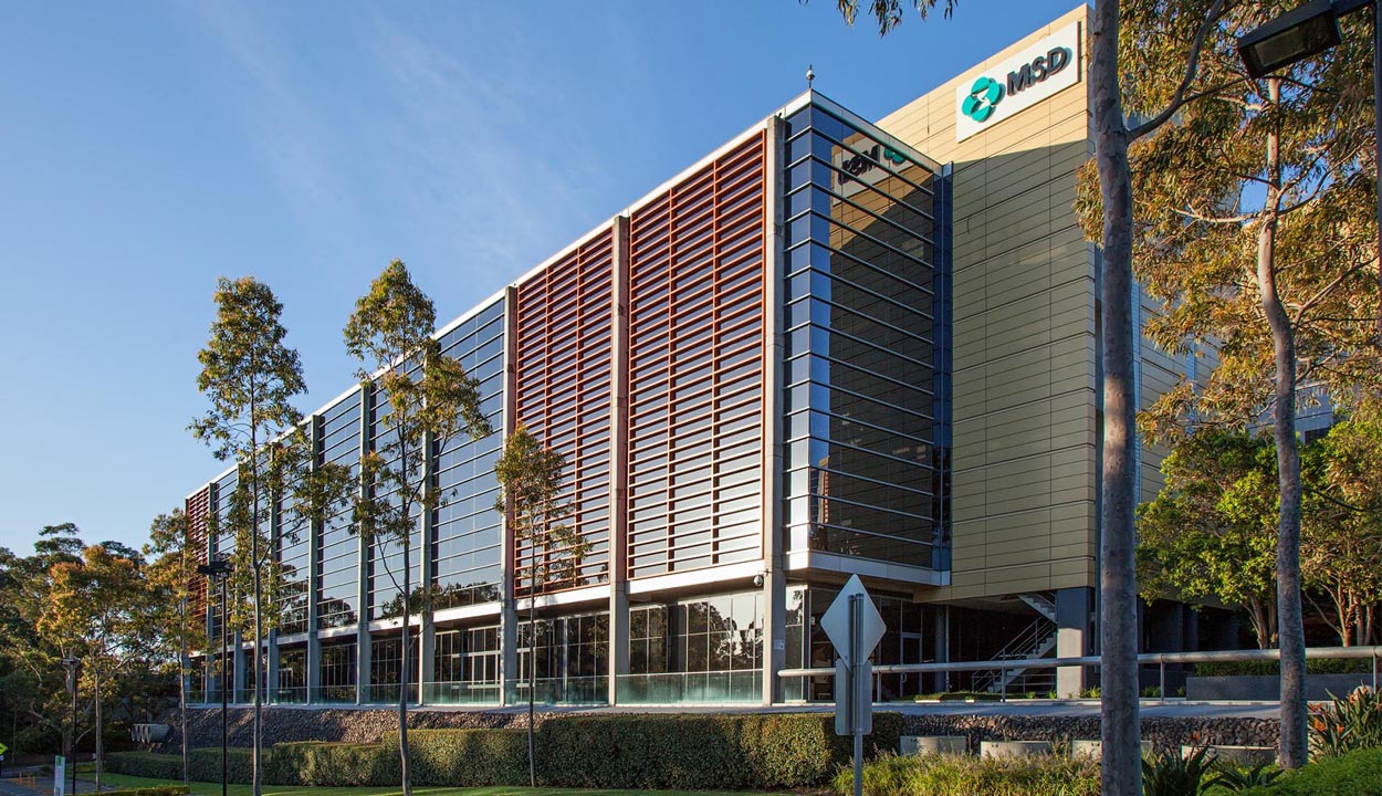 Business park North Ryde office buildings