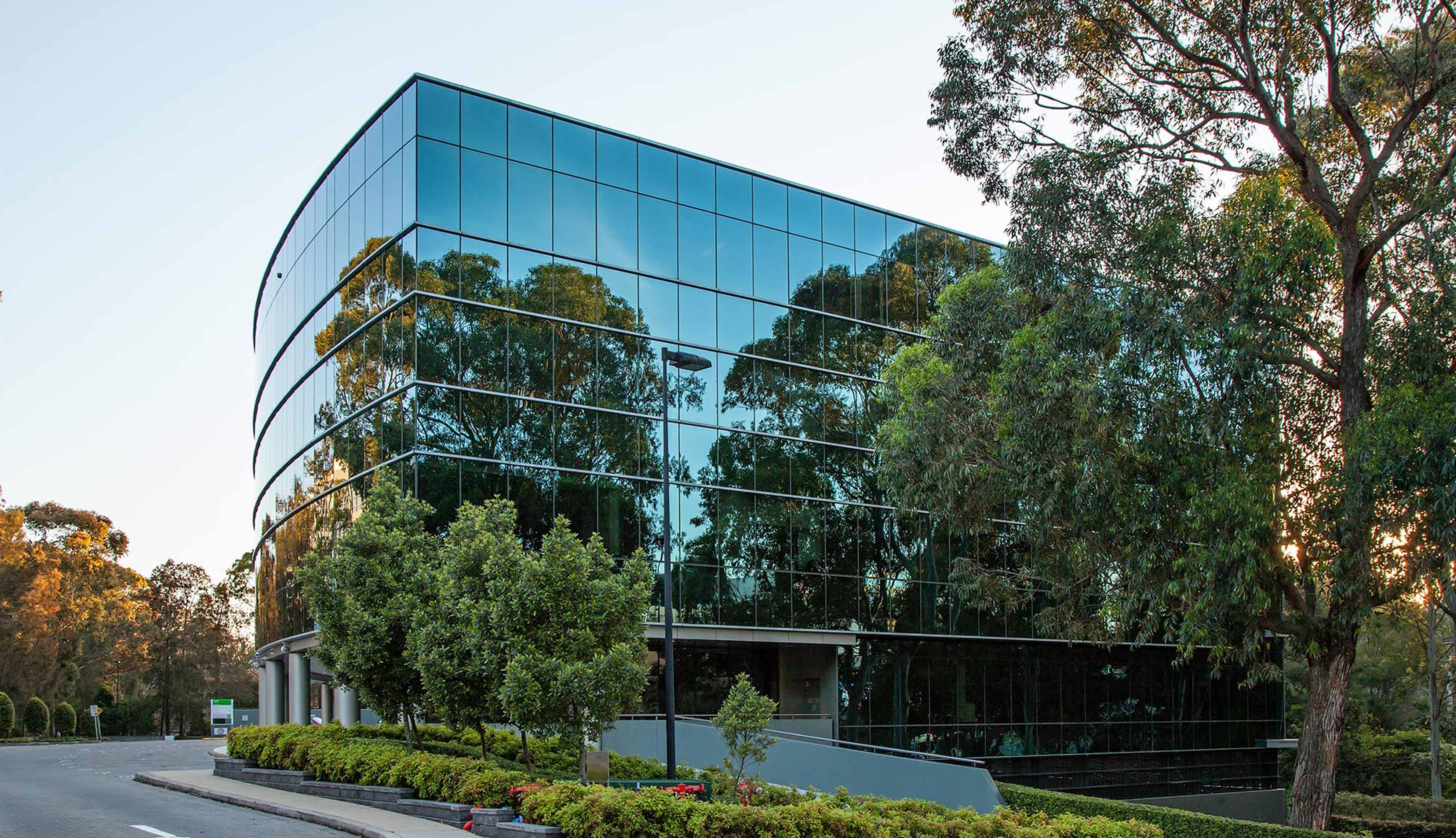 Everglades commercial office building North Ryde