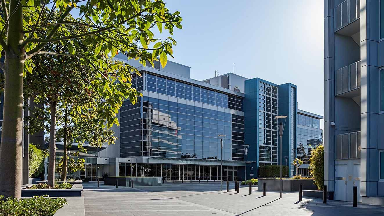 Triniti business park buildings and grounds North Ryde