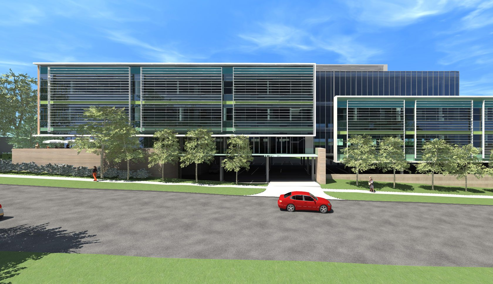 Sydney Adventist day surgery building design Hornsby
