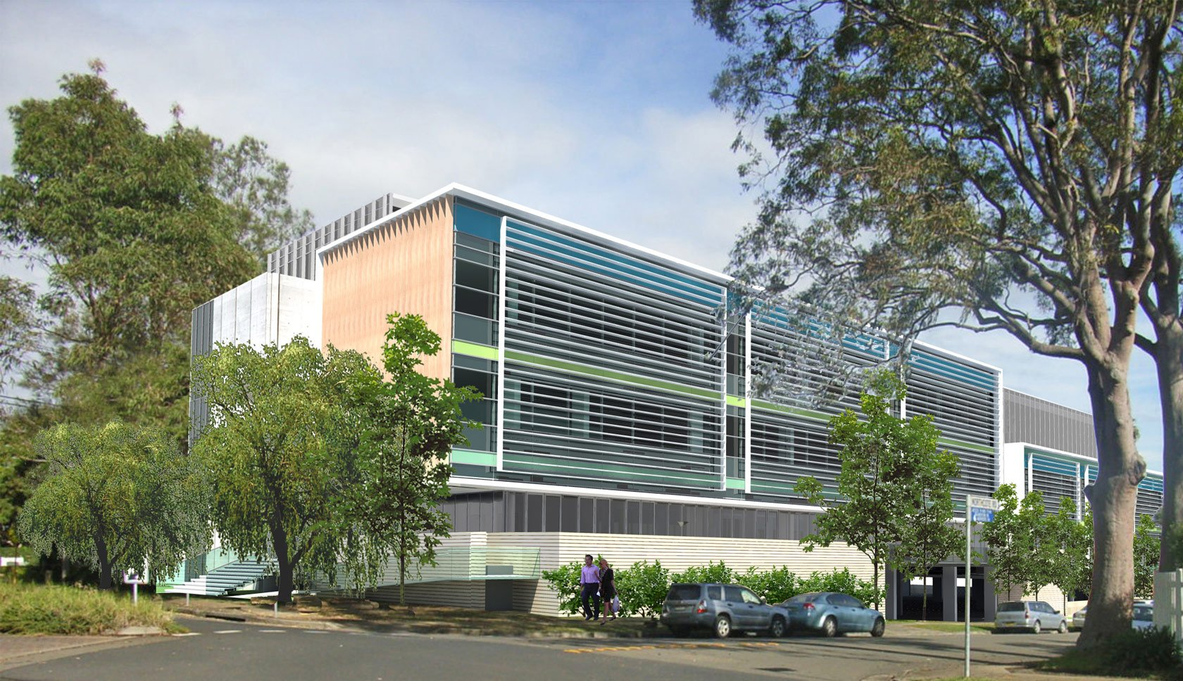 Sydney Adventist day surgery side view design Hornsby
