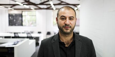 Georges Boustani staff member at Martin and Ollmann Crows Nest office