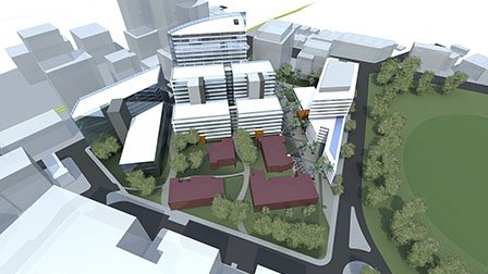 Royal North Shore hospital building masterplan