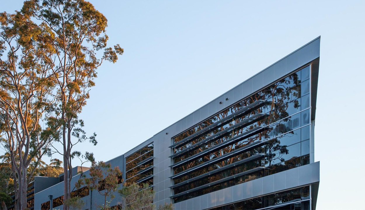Commercial office building at Narabang way Belrose located in Austlink business park
